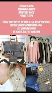 Stella and Dot clothing, Jewellery and bags party
