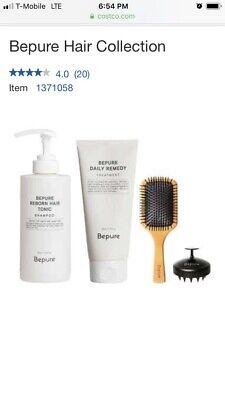 Bepure Hair Topic Scalp Set, NEW, Shampoo, treatment, hair brush,scalp brush for sale  Shipping to India