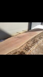 """44"""" live edge red oak slabs best offer takes them all"""