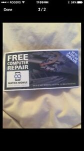 Computer Repair Voucher $100 value. Asking $20