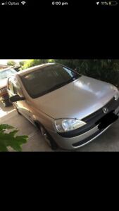 2002 holden berina XC Equipe Silver 4 Speed Automatic Hatchback
