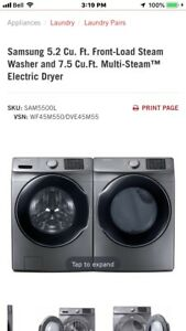 Samsung Waher/Dryer