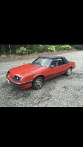 1985 Ford Mustang GT 5.0 L Convertible