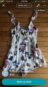 Size small floral romper