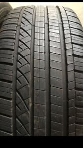 235/45/20 Dunlop Grandtrek tires set of 4 like new
