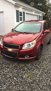 2010 Chevrolet 5 speed Aveo