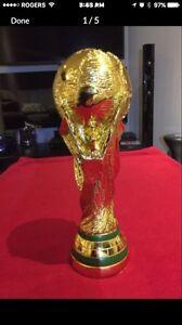 world cup trophy soccer fifa football