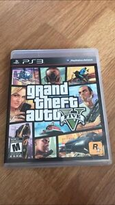 Grand Theft Auto 5- PS3- Read Description