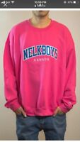 NELK CREW NECK SWEATER PINK XL SOLD OUT