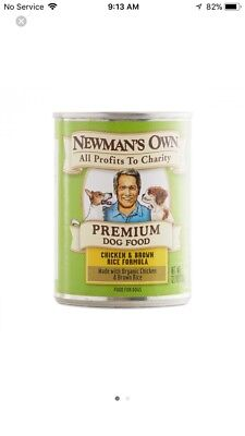 Newman's Own Chicken  Brown Rice Formula for Dogs, 12.7-Ounce Cans (Pack of 12)