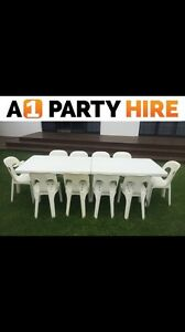 Cheapest chair and table hire on the coast Chain Valley Bay Wyong Area Preview