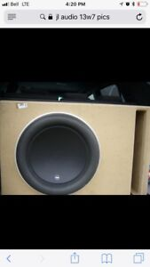 JL audio 13w7 competition subs