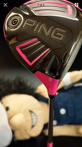 Ping Limited Edition Bubba Watson Pink Driver for Charity