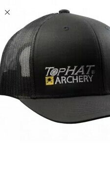 cheap for discount e24bb a346b Tophat Archery Target Hunting Hat Blk Mesh