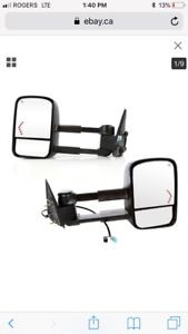 03-06 GM tow mirrors