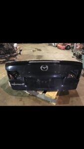 2007 mazdaspeed6 clean trunk lid
