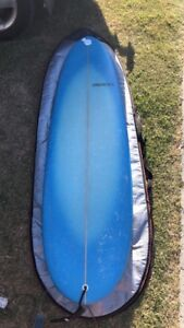6'2 mini mal surfboard