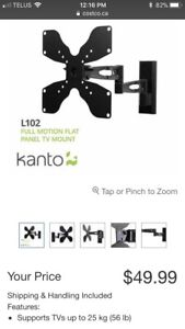 Kanto Full motion flatscreen tv mount 19-32 inch