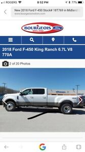 Looking to sell my 2018 king ranch ratler tow truck