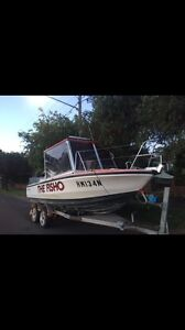 caribbean 6.2m with a 225 Johnson Motor Roselands Canterbury Area Preview
