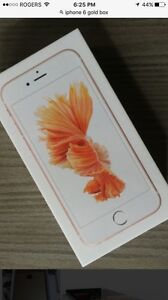 iPhone 6s 32 gb. Gold  Cambridge Kitchener Area image 1