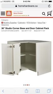 Studio Corner Base Cabinet; Cutler Kitchen & Bath