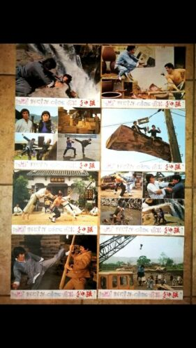 JUSTICE THE STRONGEST 1970s Original Movie Poster NEW w 12 LOBBY CARDS
