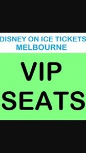 2 x VIP tickets Disney On Ice FROZEN Melbourne Narellan Camden Area Preview