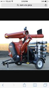 R.E.M. VRX grain vac for rent