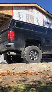 Leer truck cap silverado
