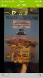 Falcon - Fairlane XD 1979 - 1981 Work Manual Slacks Creek Logan Area Preview