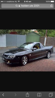 Wanted: WANTED: holden commodore ute