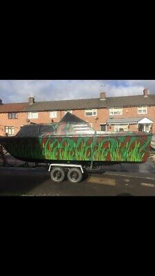 22ft Norman Fishing Boat, Been fully restored , 9.9 tohatsh engine