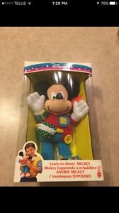 Old-school dress your Mickey Mouse toy