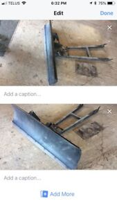 Angle Plow blade and mount