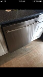 LG stainless steel dishwashed