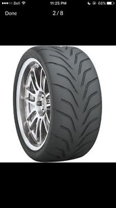 TOYO R888 305/30/19 track tires $120