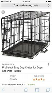 Medium size dog cage