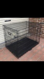 2 animal cages