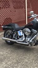 Harley Softail Vance & Hines 2 into 1 exhaust system Emu Heights Penrith Area Preview