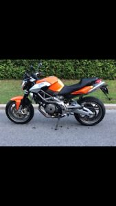 Aprilia Shiver 750 street fighter