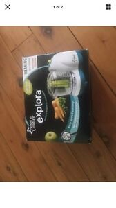 Closer to nature explora baby food blender new Blaxland Blue Mountains Preview
