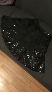 Black sequin Guess Skirt size XS
