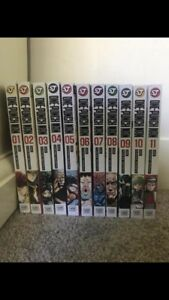 One Punch Man manga 1-11