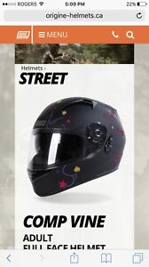 Two small helmets for sale