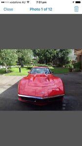 Chevrolet Corvette 1971 454 Big Block Ascot Vale Moonee Valley Preview