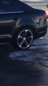 18 inch 5x112 S Line rims and tires