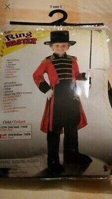 Jungen Kostüm Zirkusdirektor Zirkus Frack Hut Kinder. Größe - Kind Zirkusdirektor Kostüme