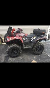 C&C cycles parting out 2014 arctic cat mud pro 700 rims great