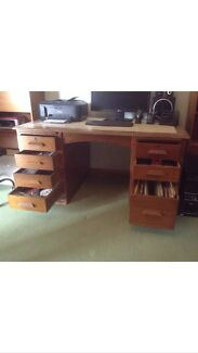 Vintage Bankers Desk Norlane Geelong City Preview